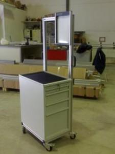 Mobiliario industrial a medida Carro herramientas