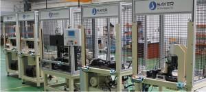 Lineas de montaje para ensamblaje y control de bisagras de automocion  Mejora de procesos industriales Lineas de montaje para ensamblaje y control de bisagras de automocion
