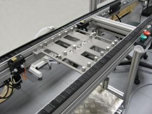 transportador de paletas  Logística de producción transportador de paletas