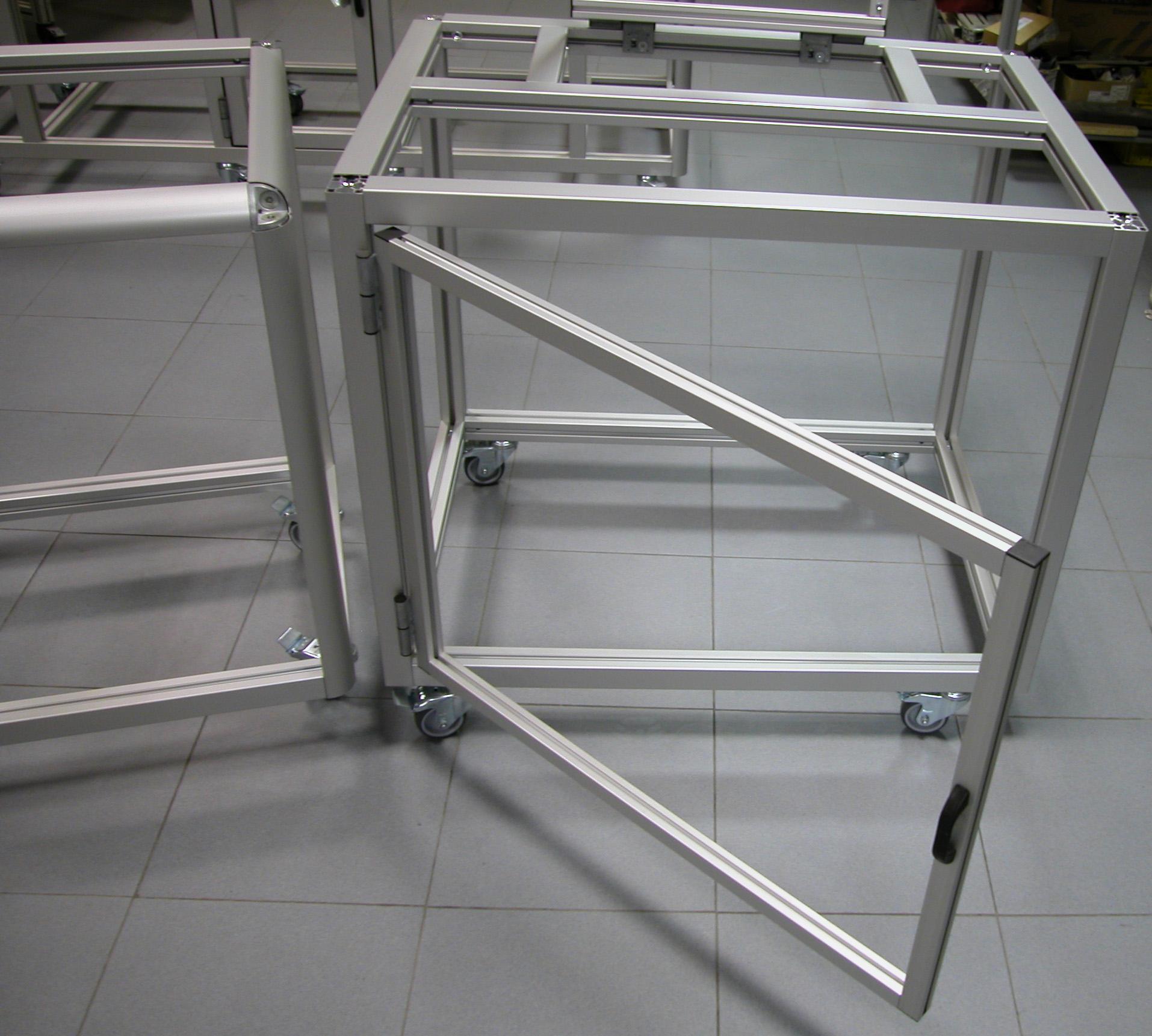 Perfileria de aluminio para armarios materiales de for Perfiles aluminio para muebles