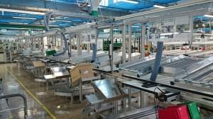 Linea P1  Puestos de montaje manual Linea P1